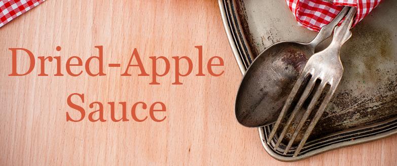 Dried-Apple Sauce