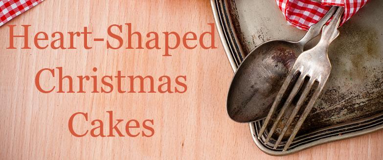 Heart-Shaped Christmas Cakes